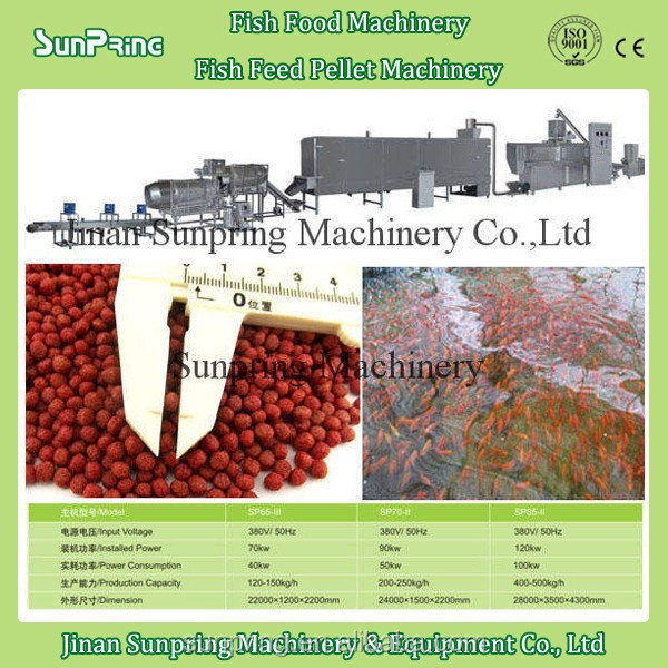 Complete floating fish feed pellet machine Fish Feed Manufacturing Machine