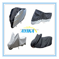 Dustproof Water Resistant Sun UV Protective Breathable Motorcycle Motorbike Scooter Cover with Carry Bag