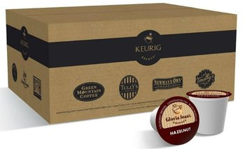 Gloria Jean's Coffees Hazelnut Coffee K-Cup for Keurig Brewers 50ct