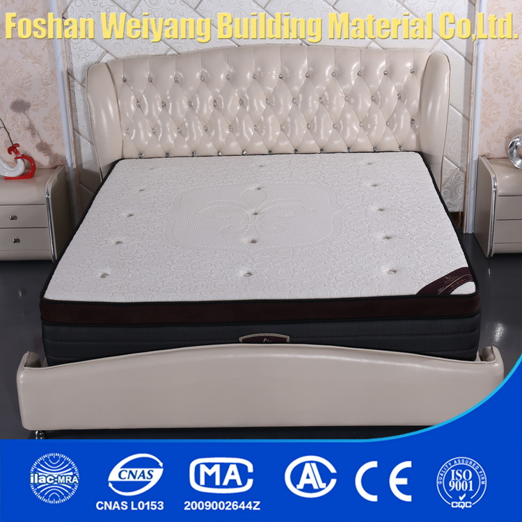 WSS548 China manufacturer new products elegant sleep well spring bedroom mattress wholesale suppliers