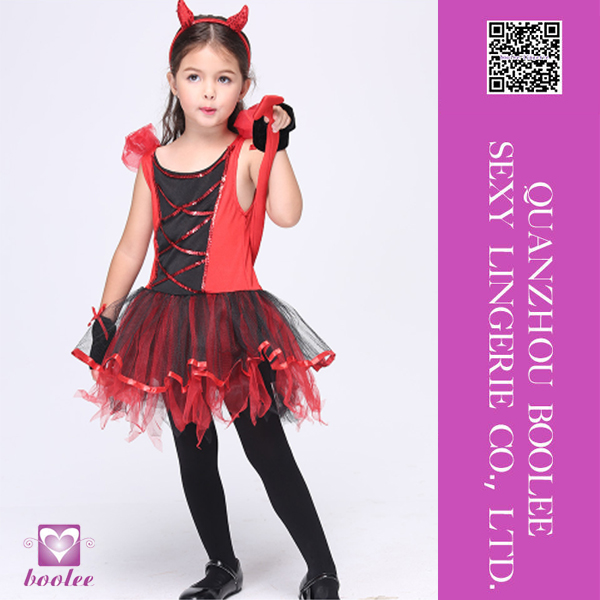 Top Grade Top Quality red devil costume for girls
