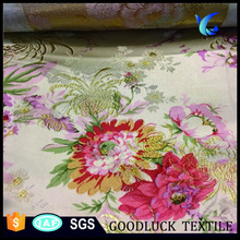 Damask Jacquard Plain Dyed Fabric For Wedding Chair Cover