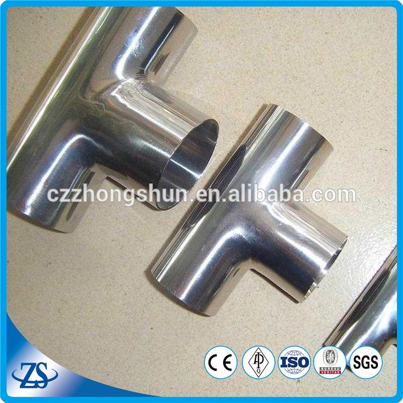 carbon steel equal tee sh20 with power tube manufacturing