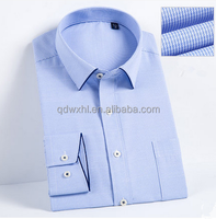 Cheap Wholesale chinese collar mens buttons shirts casual brand name men slim fit dress shirts