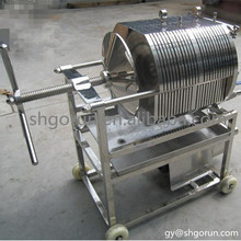 Stainless Steel Coconut Oil Filter Machine,High Quality Plate And Frame Filter