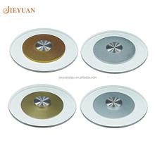 Hotel Restaurant Dining Table Top Glass Lazy Susan Swivel Plate