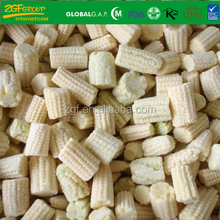 Grade A Frozen Vegetables IQF Cut Sweet Baby Corn