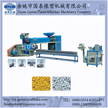 single screw extruder plastic bottle recycling machine PE PP PS material waste plastic granules making machine