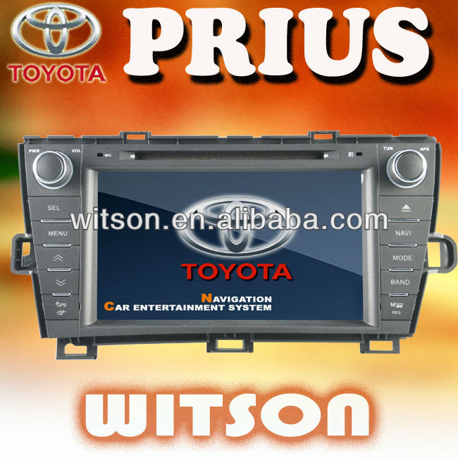 WITSON auto dashboard TOYOTA PRIUS with USB port and iPod ready