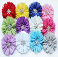 african voile decorative edelweiss gradient color chiffon fabric for hair flowers