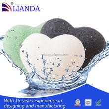 Chemical free 2012 new fashinal 100% natural konjac cleaning sponge