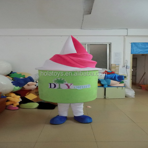 Lovely frozen yogurt mascot costume/mascot/costume