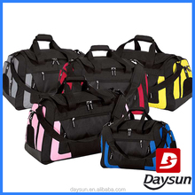 Color sport duffle bag carry on bag