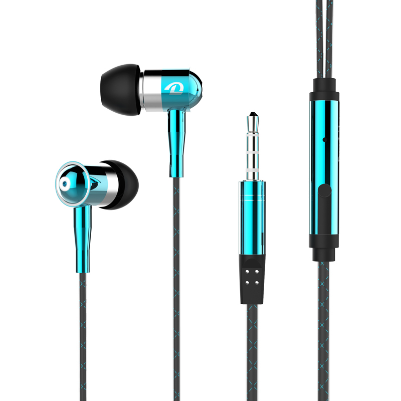 Hot Selling Super Bass Earphone Wired Earphones With Mic for Mobile phones for iphone 7