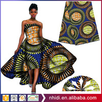 wholesale china manufacturer 24s african wax prints fabric 100 cotton