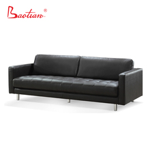 Classic style germany living room heated leather sofa