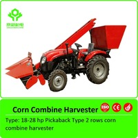 Small Corn Harvester Machine/ Mini Corn Combine Harvester With China manufacturer