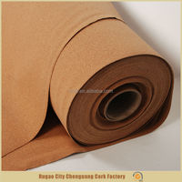 High quality soundproof thickness 4mm cork roll