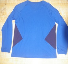 OEM Wholesale 100% Cotton Fast Dry Long Sleeves T Shirt