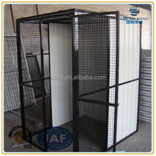 3'x5'x6' square metal tube cat cage exercise metal play pen with shade roof