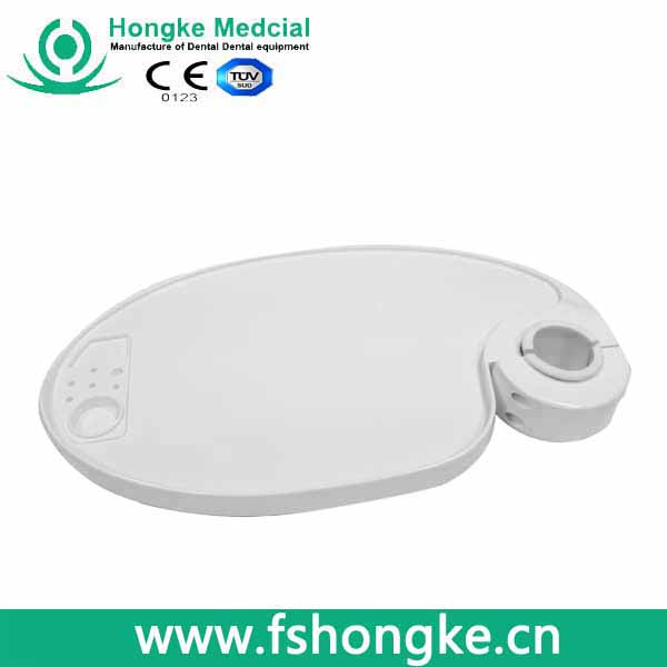 Hongke dental chair spare parts lamp-posts tray