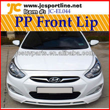 For Hyundai Accent PP Body Kits Car Bumpers Front Lip 11-12 year