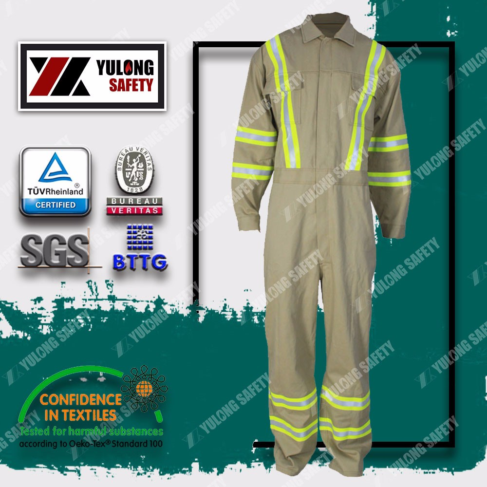 Factory manufacture functional flame retardant fireproof coveralls