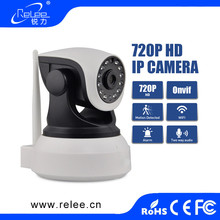 2017 New arrival 720P HD WiFi Two-way Wireless IP Webcam Network Camera with IR-Cut night vision