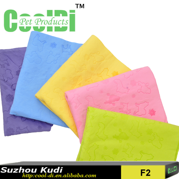 Pet cleaning product absorbent dog wash towel