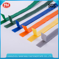 Customized Colours 30% Nylon 70% Polyester Bags Hook And Loop Tape