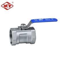 Chemical Stainless Steel 1PC Thread Ball Valves For Pharmacy Industries