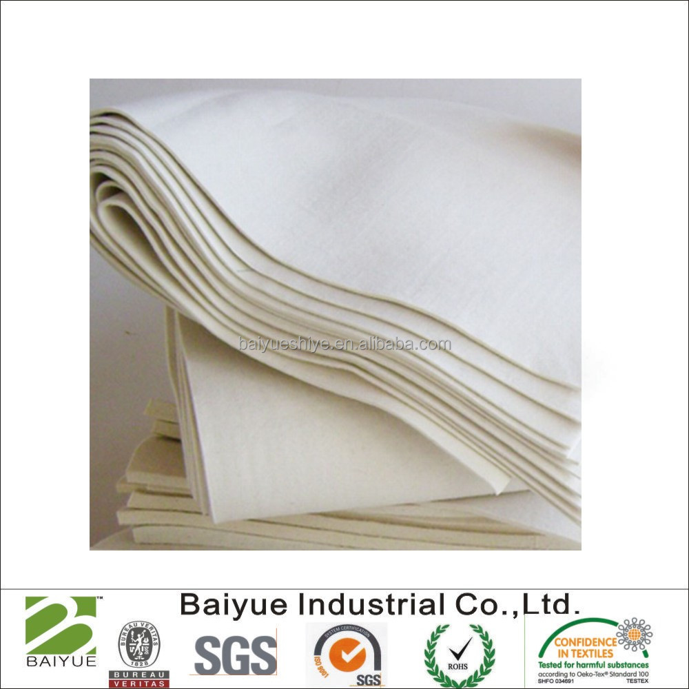 Factory wholesale 100% natural wool felt