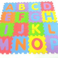 EVA Foam Alphabet Puzzle Mat For