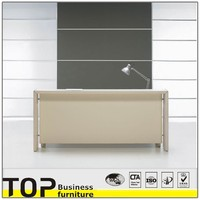 Receipt table office counter table wood reception desk
