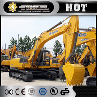 China XCMG brand crawler excavator XE260C 26 ton rc excavator construction