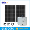 New Design 12V 100W Portable Solar Home System Dc Solar System For Charging Mobile