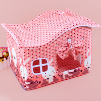 Foldable Pet House In Winter Or Autumn Luxury Pet Dog Bed Fabric Dog House