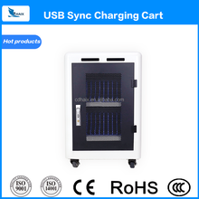 Ereader Ipad/ tablet charging cart for library ebook school sync cabinet