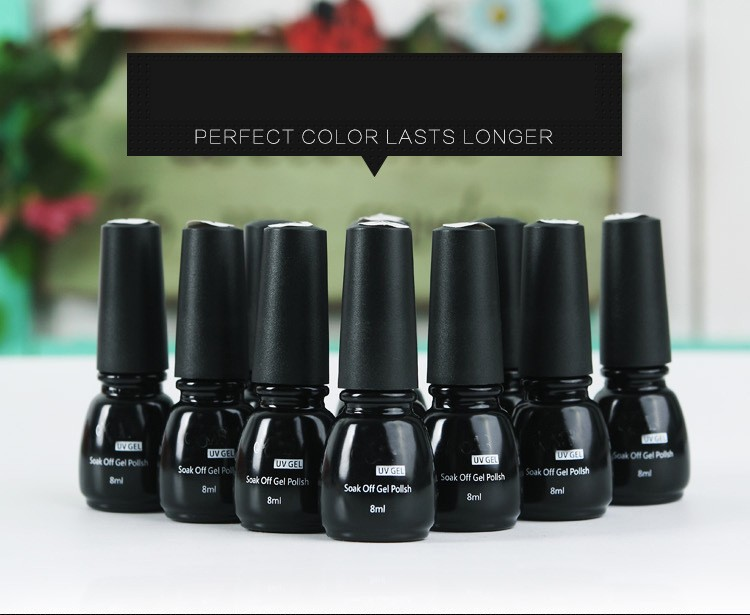 OEM factory price 8ml professional soak off UV gel polish
