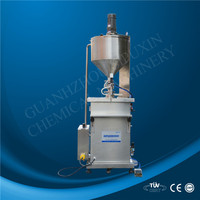 spx pneumatic heating and mixing paste filling machine for ointment
