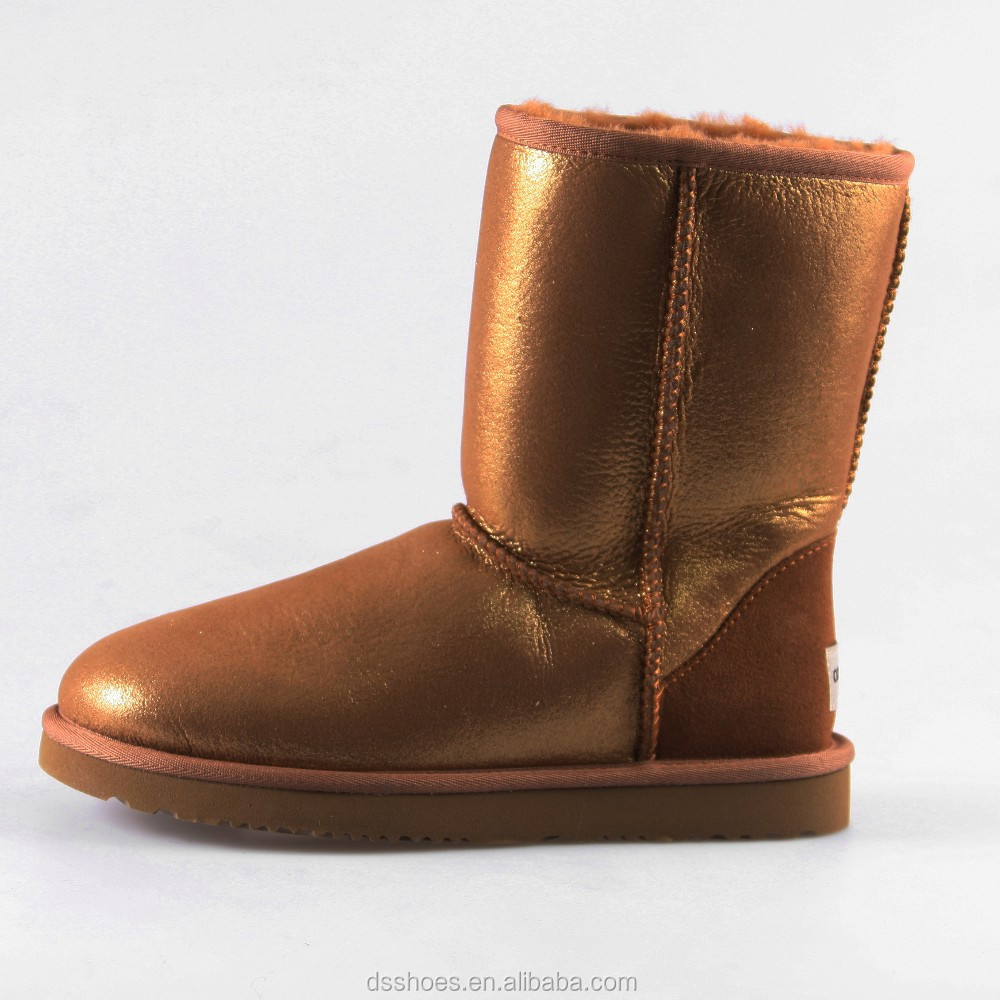 Wholesale Factory Price Sheepskin Mexico/Mexican western boots