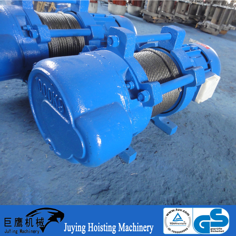 AC 380v construction hoist KCD type electric cable pulling winch machine