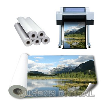 Premium RC 180G Satin Inkjet Photo Paper(sheet/roll)
