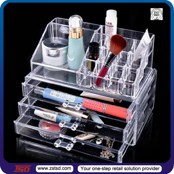 Tsd Wholesale Cheap Acrylic Makeup Organizer