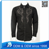 Custom Men Embroidered Slim Fit Copper Stone Shirt