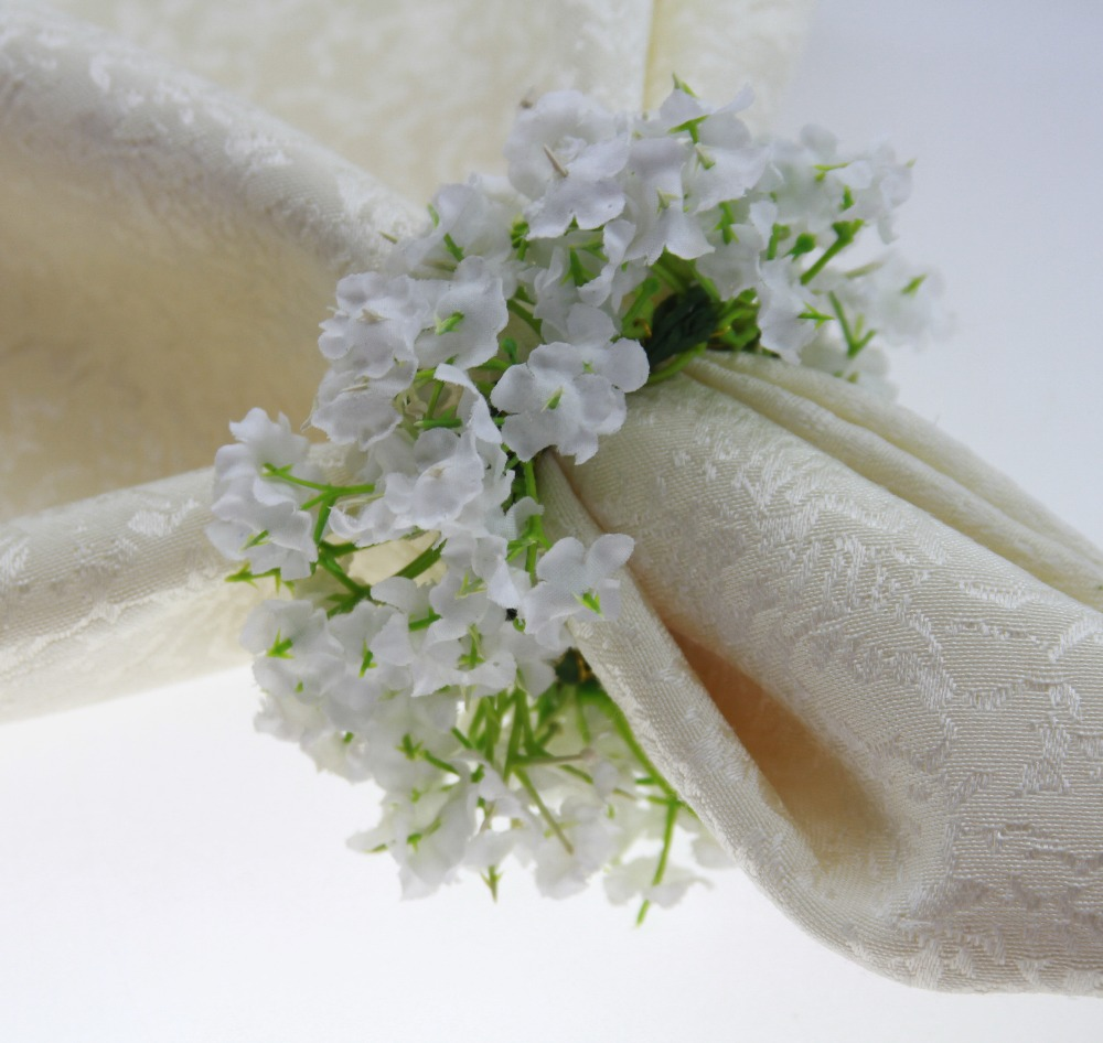 Wholesale flower ring holder online buy best flower ring holder silk strongflowerstrong napkin mightylinksfo