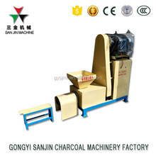 Latest capacity sawdust briquette charcoal making machine