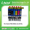 Compatible for Canon ink cartridge PGI-350XL CLI-351XL