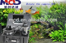 MCD-110B /360 degree rotation Lens Under water pipe inspection camera