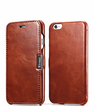 2017 Hot Sell Premium PU Leather Flip Folio Wallet Phone case for Iphone6s